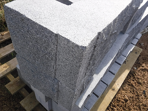 BLOCK DARK GREY 14X54X10 1X FACE NATURAL