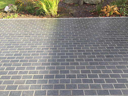 SETTS DARK GREY10X20X10 1 X FACE FLAMED